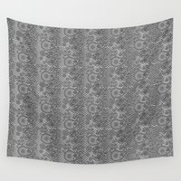 paisley Wall Tapestries featuring Paisley by Karl U