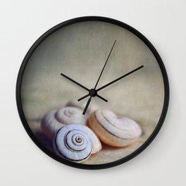 Shell Still Life. Wall Clock