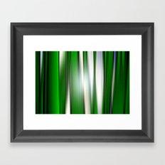 Deep in the grass. Framed Art Print