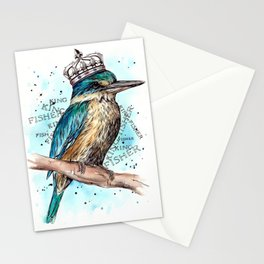 KING-Fisher Stationery Cards