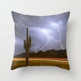 Scintillation Overdrive Throw Pillow