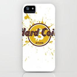 Hard Coin Bitcoin iPhone Case