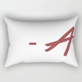 - A Rectangular Pillow
