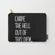 Carpe Diem ///www.pencilmeinstationery.com Carry-All Pouch