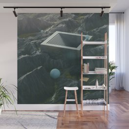 Stairs Wall Mural
