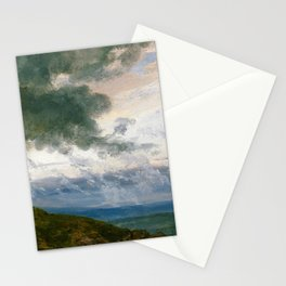 Johan Christian Dahl - Study Of Drifting Clouds - Digital Remastered Edition Stationery Cards