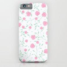 Floral pattern design Slim Case iPhone 6s