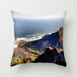 Overlooking Lions Head Mountain Throw Pillow