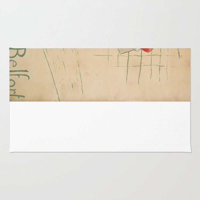 Vintage poster - May Belfort Rug