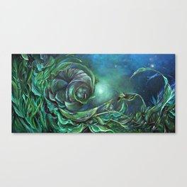 Imperiled By Infatuation Canvas Print