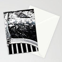 Custom chopped Ford hood Stationery Cards