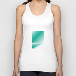 green color energy fold Unisex Tank Top