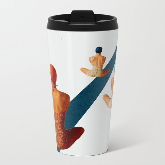 summer is ending Metal Travel Mug