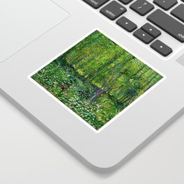 Vincent Van Gogh Trees & Underwood Sticker