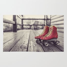 No Skating in the House Rug
