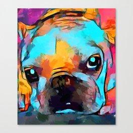 French Bulldog 3 Canvas Print