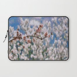 Blooming Almond Tree Laptop Sleeve