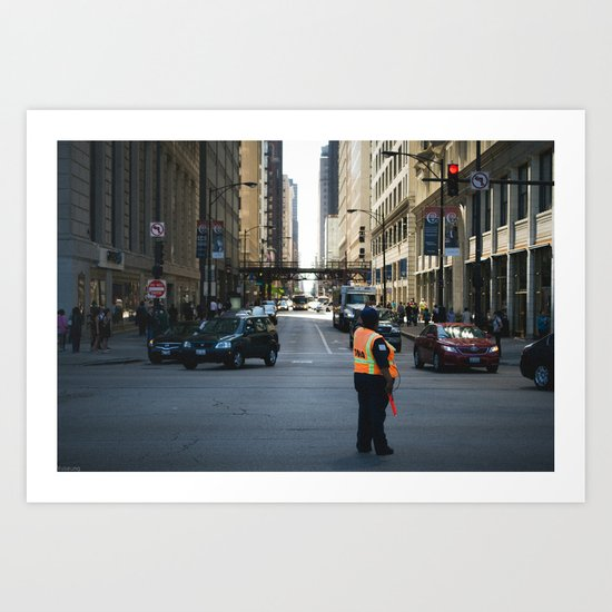 Chicago Streets Art Print