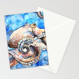 Magna Polypus (Large Octopus) Stationery Cards