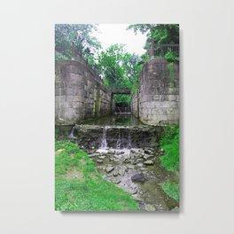 Side Cut Symphony Metal Print
