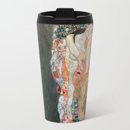 Gustav Klimt Death and Life Travel Mug