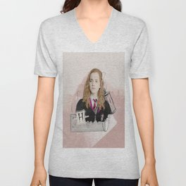 Hermione Granger - The Brightest Witch of Her Age! Unisex V-Neck
