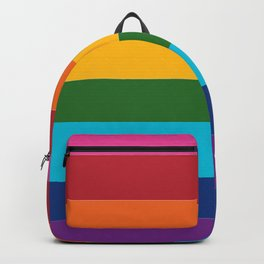 Gilbert Baker Original Pride Flag Backpack