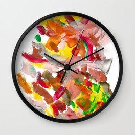 She is in the garden Wall Clock