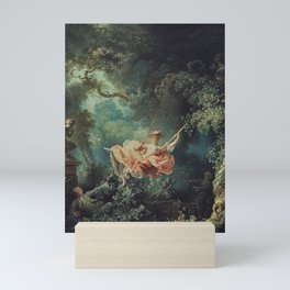 Jean-Honore Fragonard: The Happy Accidents of the Swing Mini Art Print