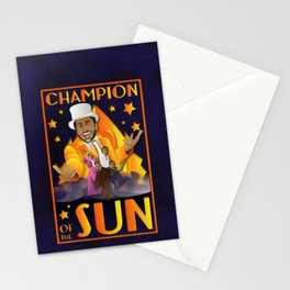 Champion of The Sun (The Nightman Cometh) Stationery Cards