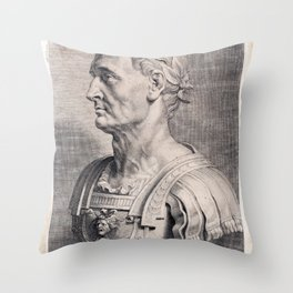 Gaius Julius Caesar Throw Pillow