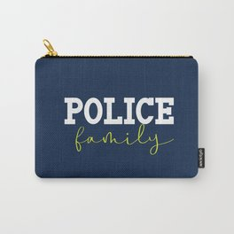 Police Family Carry-All Pouch