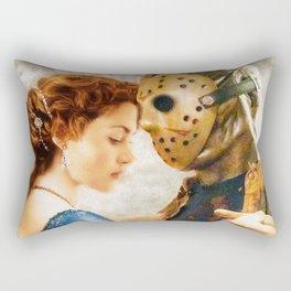 Jason Vorhees as Jack Dawson Rectangular Pillow