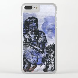 Portrait of Dorothy and Toto, Coombes Clear iPhone Case