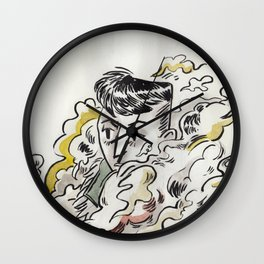 Fogged up Wall Clock