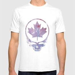 Canadian Steal Your Face (variation #3) T-shirt
