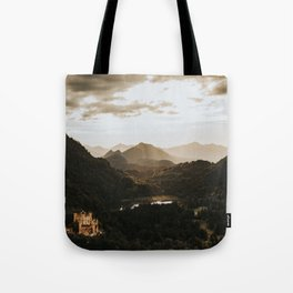 Hohenschwangau castle in Germany Tote Bag