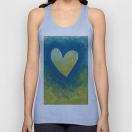 Heart No. 4 Unisex Tank Top