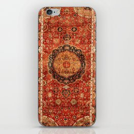 Seley 16th Century Antique Persian Carpet Print iPhone Skin