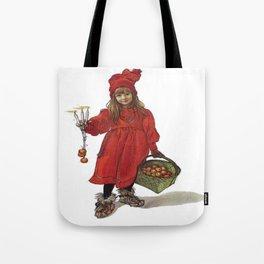 Iduna and Her Magic Apples Tote Bag