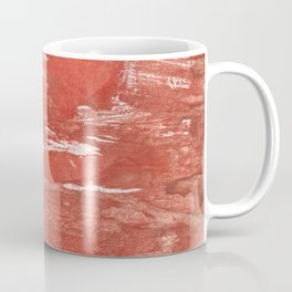 Indian red colorful wash drawing Coffee Mug