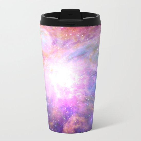 Galaxy Nebula Metal Travel Mug