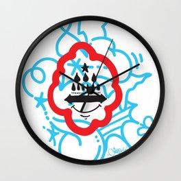 GIOSE X STREETART.COM Wall Clock