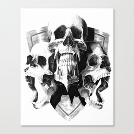 ominous dark without type Canvas Print