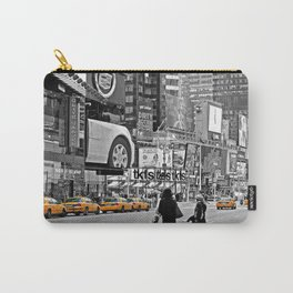 NYC Yellow Cabs Times Square - USA Carry-All Pouch