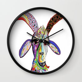 Somebody Got Your Goat? Wall Clock