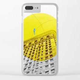 Flatiron building Clear iPhone Case