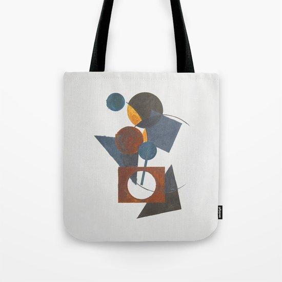 Constructivistic painting Tote Bag