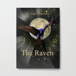 Edgar Allan Poe's The Raven Metal Print