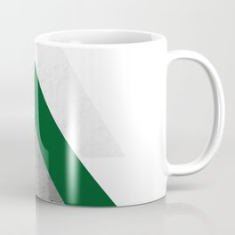 Marble Green Concrete Arrows Collage Coffee Mug